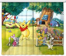"""""""Winnie Puuh"""" Kinder Foto Vorhang Gardine 180x160cm"""