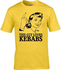 Kebab Herren T-Shirt Lebensmittel Döner Junggesellenabschied pub Nahrung Essen