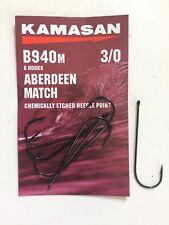 KAMASAN B940M ABERDEEN MATCH HOOK - SEA FISHING - FREE UK P & P