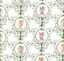 Casa De Muñecas Wallpaper 1//12th 1//24th escala las aves de Papel de calidad # 109