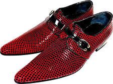 Original Chelsy - Italienischer Designer Party Slipper Netzmuster schwarz rot