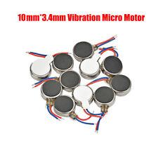 Miniatur Vibrationsmotor rund 10x3.4 mm 3V - Kleiner mini Vibrations Motor Neu