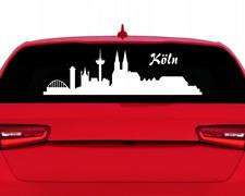 Stadtaufkleber Köln Autoaufkleber Collage  11 Farben 2 Größen
