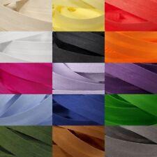 Schrägband 20 mm  2 cm Baumwolle gefalzt Einfassband Farbwahl