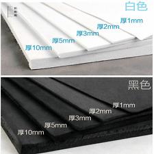 3df1e66e16a Blanco Negro Hoja de espuma EVA Board Placa Mat espesor 1 mm 2 mm 3 mm 5 mm  10 mm Eva
