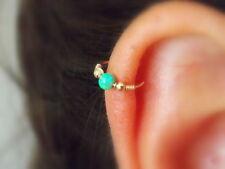 Helix Earring Opal Septum Ring Cartilage Hoop opal helix piercing opal piercing