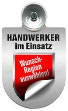 (309472) Einsatzschild für Windschutzscheibe Schild • HANDWERKER • im Einsatz