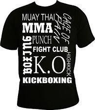 Kampfsport T-shirt, mma, Freefight, ufc, kickboxen,boxen,muay thai,fightshirt,ko
