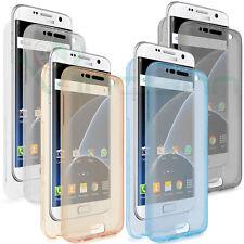 Custodia Crystal Full Body trasparente pr Samsung Galaxy S7 Edge G935F cover TPU