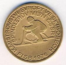 1976 SKI BOB European Championships PARTICIPANT MEDAL Skibob