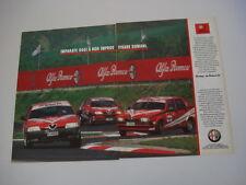 advertising Pubblicità 1991 ALFA ROMEO 3.0 75/164