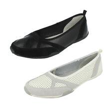 Mujer f8r0377 DE PIEL SIN CIERRES Plano Zapatos de Down To TIERRA