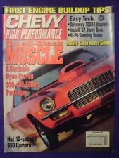 CHEVY HI PERFORMANCE - 10 SEC 350 CAMARO - Apr 1993