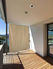 Sonnensegel Sonnenschutz Windschutz Sichtschutz  Markise  creme und anthrazit