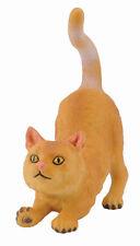 New CollectA 88324 British Shorthair Cat Stretching Model 5.5cm Feline - Retired