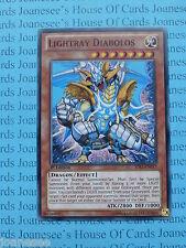 Lightray Diabolos SDLI-EN017 Common Yu-Gi-Oh Card Mint 1st Edition New