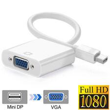 Mini DP to VGA, 1080P Mini DisplayPort Thunderbolt 2 to VGA Audio Cable for iMac