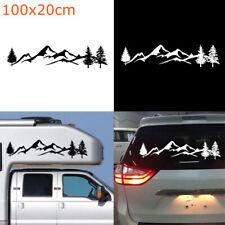 Waterproof SUV RV  PET Offroad Auto Decal Tree Mountain Car Decor Car Sticker