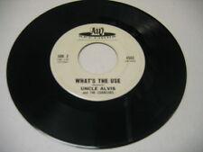 Uncle Alvis Hey Hey Pussycat 45 RPM Rockabilly