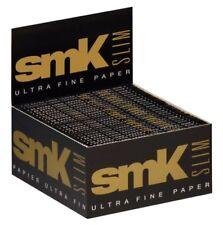1 box smoking ® SMK Slim King Size papers 50 x 33 Feuilles Ultra Original ®