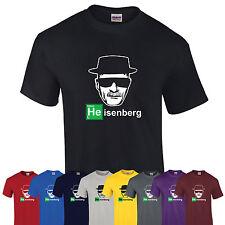 Heisenberg breaking bad walter blanc los pollos unisexe T-shirt