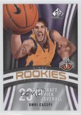 2009-10 SP Game Used #128 Omri Casspi Sacramento Kings Rookie Basketball Card