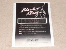 Sae R102 Receiver Ad, 1 pg, Black Flash! Info, Rare!