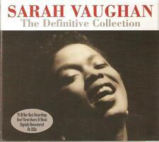 SARAH VAUGHAN THE DEFINITVE COLLECTION - 3 CD BOX SET