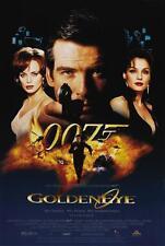 James Bond 007 GoldenEye 1995 Movie Poster Canvas Wall Art Print Pierce Brosnan