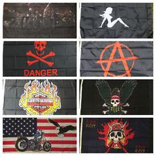 America Biker Flag USA Chopper Angels Harley Motorbike Motorcycle Angels Outlaw