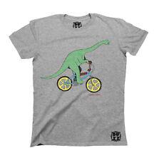 Dinoride DINOSAUR T-Shirt Unisex Mens Ladies HIPSTER