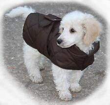 Cosipet Trapuntato GURKHA Impermeabile Dog Cappotto / Giacca Marrone / Grigio