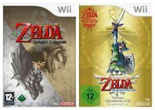 Wii Spiel - Legend of Zelda Bundle: Twilight Princess + Skyward Sword (mit OVP)