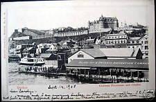 Canada~1905 QUEBEC~Chateau Frontenac~Citadel~ RARE