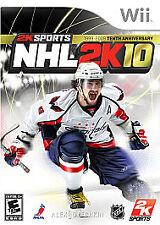 NHL 2K10 (Nintendo Wii, 2009)