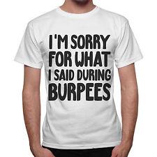 T-Shirt homme La'M Sorry For What la A Déclaré Au Cours De Burpees