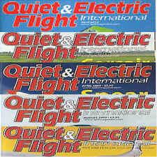 Magazine -QUIET & ELECTRIC FLIGHT Full contents INDEX SHOWN - Various