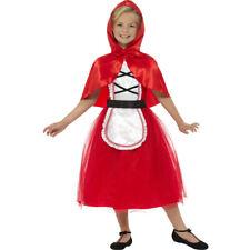Costume di Little Red Riding Hood ragazza per bambini fiaba Cappuccetto Rosso