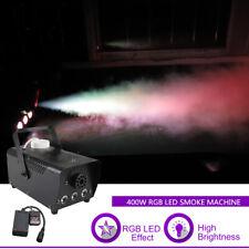 Mini Rgb Led Fog Smoke Machines Remote Party Show Stage Light Atmospheric Effect