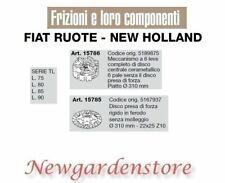 Frizione disco trattore serieTL L.75 80 85 90 15786 FIAT RUOTE NEW HOLLAND 310mm