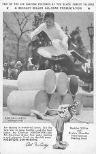 NESTOR JOHNSON ICESKATES BLACK FOREST VILLAGE SHOW 1934