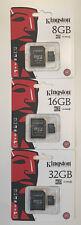 Original Kingston 8GB 16GB 32GB Micro SD Karte Card, SpeicerKarte Class-4 C4