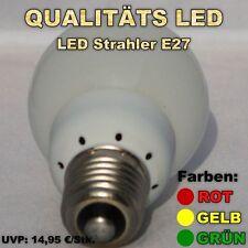3 x LED Glühbirne  E 27, Leuchtmittel, Glühbirne,LEDs, Strahler, 1,2 Watt