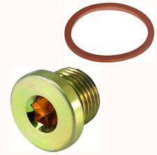Testa Rotonda Maggiorato M17 x 1.5 Scarico Dell'olio Candele per riparare M16