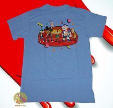 New Nickelodeon Hey Arnold Cast Vintage Men's Retro T-Shirt