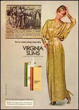 1978 Vintage magazine advertisement for Virginia Slims Cigarettes (091412)