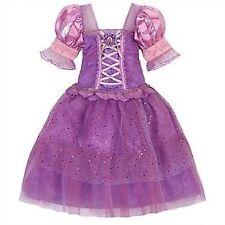Disney Store Tangled Rapunzel Costume Dress Up Pink Princess Halloween Gown NEW
