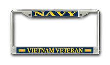 Vietnam Veteran License Plate Frame American Made - Veteran Approved!