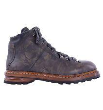 Dolce & GABBANA STIVALETTI Cortina da DAUPHINE MARRONE pelle ankle boots 04875