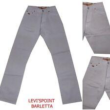 pantaloni energie uomo o ragazzino in cotone estivi beige  taglia W28L34 ita 42